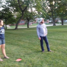 fun in a park