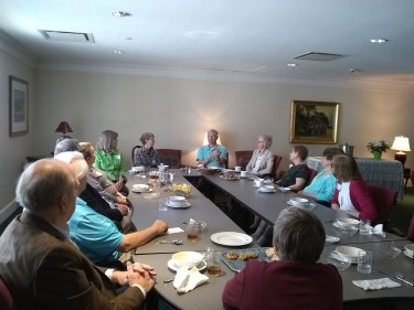 Luncheon for Volunteers from GRCC and GVSU